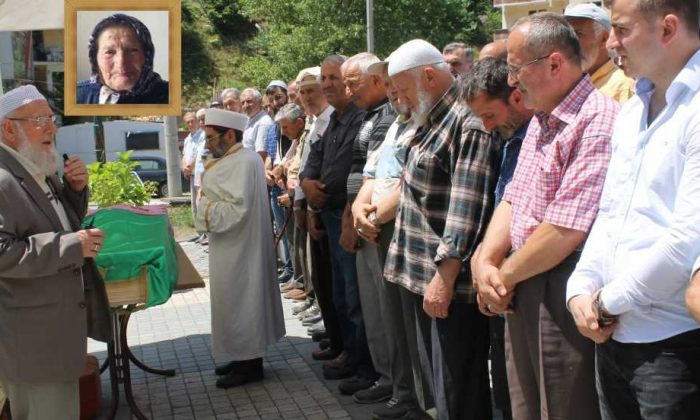 Taşkıran'da Fatma Albayrak Toprağa verildi