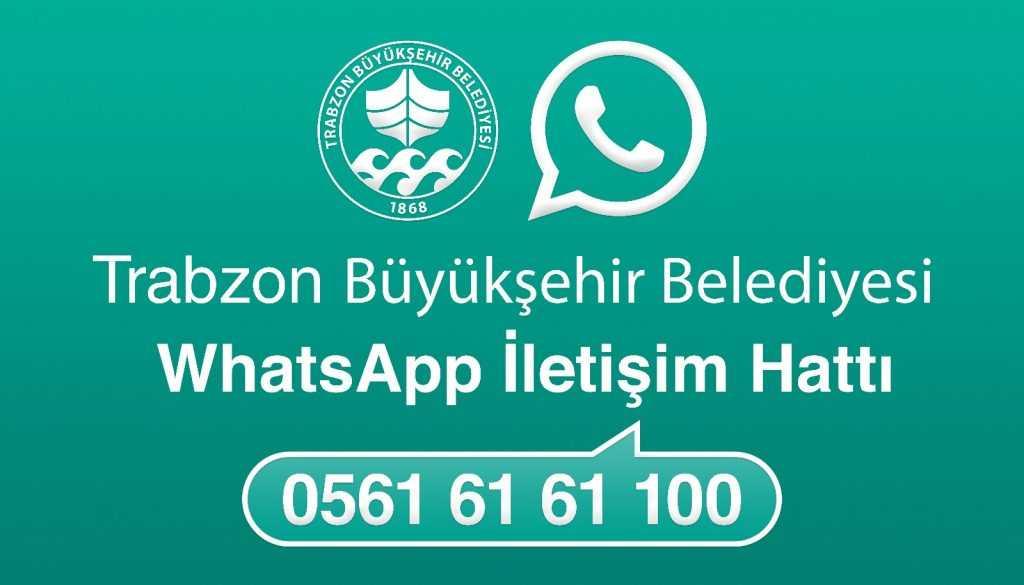 Büyükşehir WhatsApp İletişim Hattı hizmete girdi