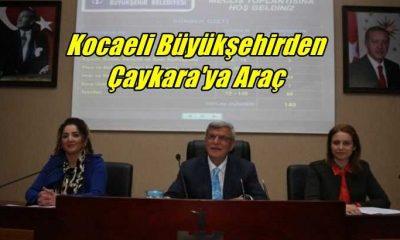 Kocaeli Büyükşehir Belediyesinden Çaykara'ya cenaze aracı