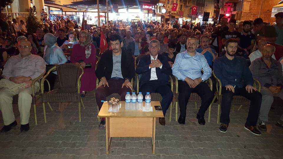 Çaykara'da 15 Temmuz Demokrasi ve Milli Birlik Günü  kutlandı