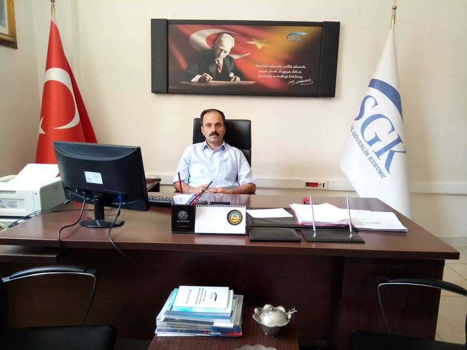 Hemşerimiz  Salih Zeki Ocak Suruç'a Müdür olarak atandı