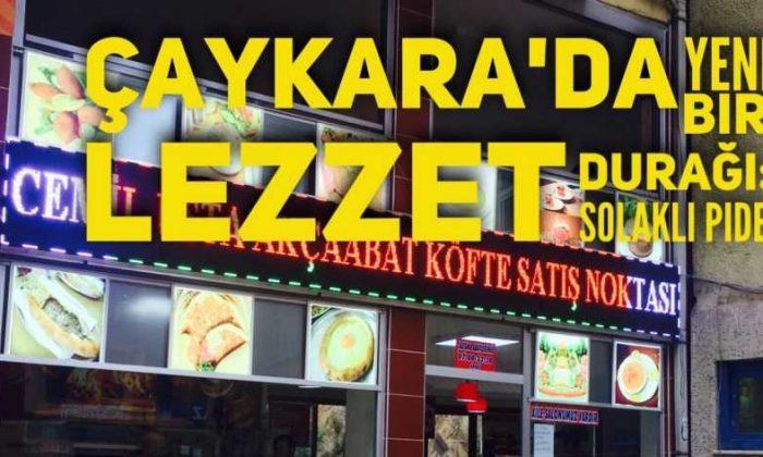Pide Solaklı Çaykara'da açıldı