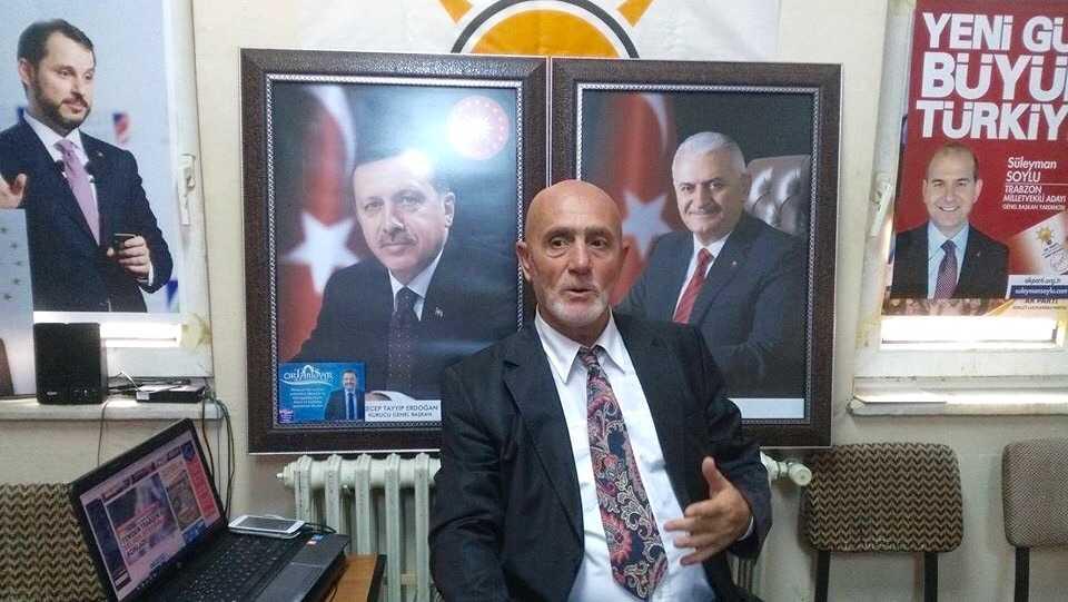 Dernekpazarı Ak Parti'de adaylığını açıkladı