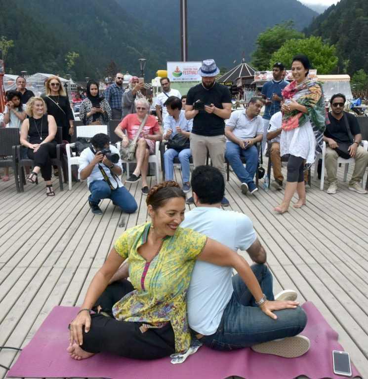 Uzungöl'de yoga festivali tanıtıldı