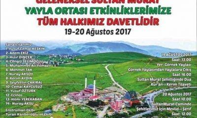 Sultanmurat Yayla Ortası Geleneği programı netleşti