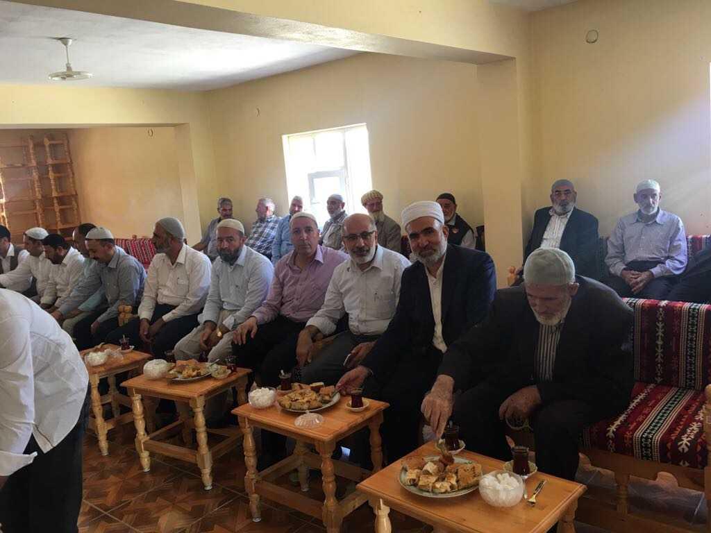 Diyarbakırlı din adamları Sultanmurat'ta 2