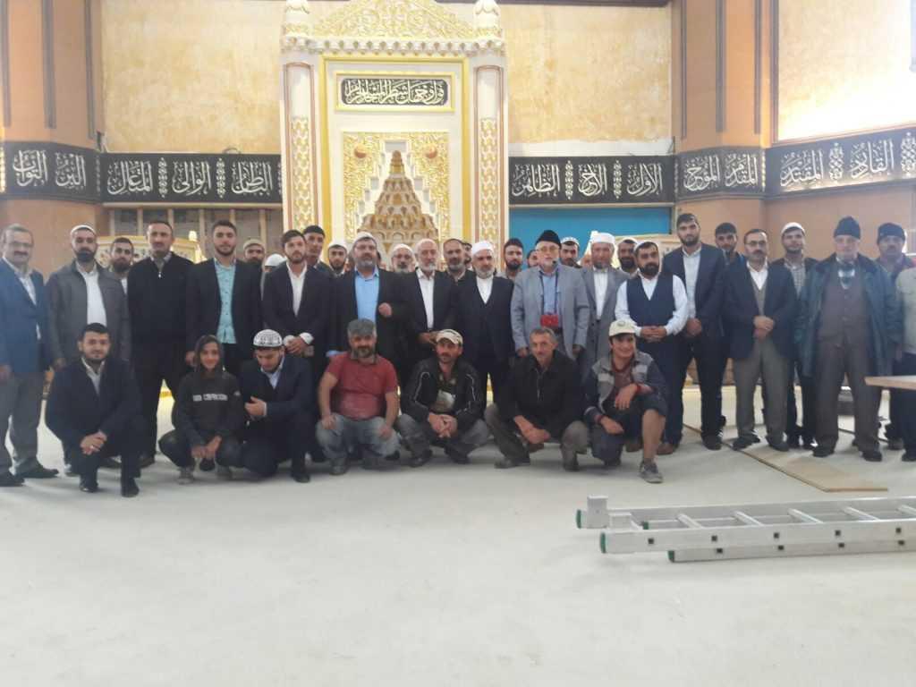 Diyarbakırlı din adamları Sultanmurat'ta 7