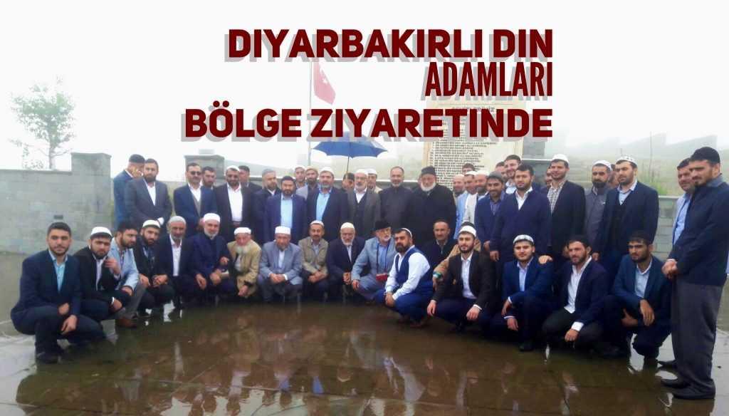 Diyarbakırlı din adamları Sultanmurat'ta