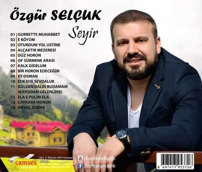"""Özgür SELÇUK - """"Seyir"""" Albümü Çıktı 1"""