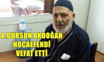 Maraşlı'dan Ahmet Dursun Akdoğan hoca vefat etti