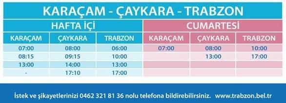 Trabzon'da Belediye otobüs ücratlerine zam 1
