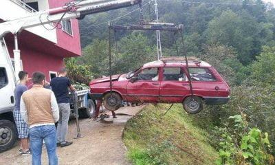 Bu araçtan yara almadan çıktı