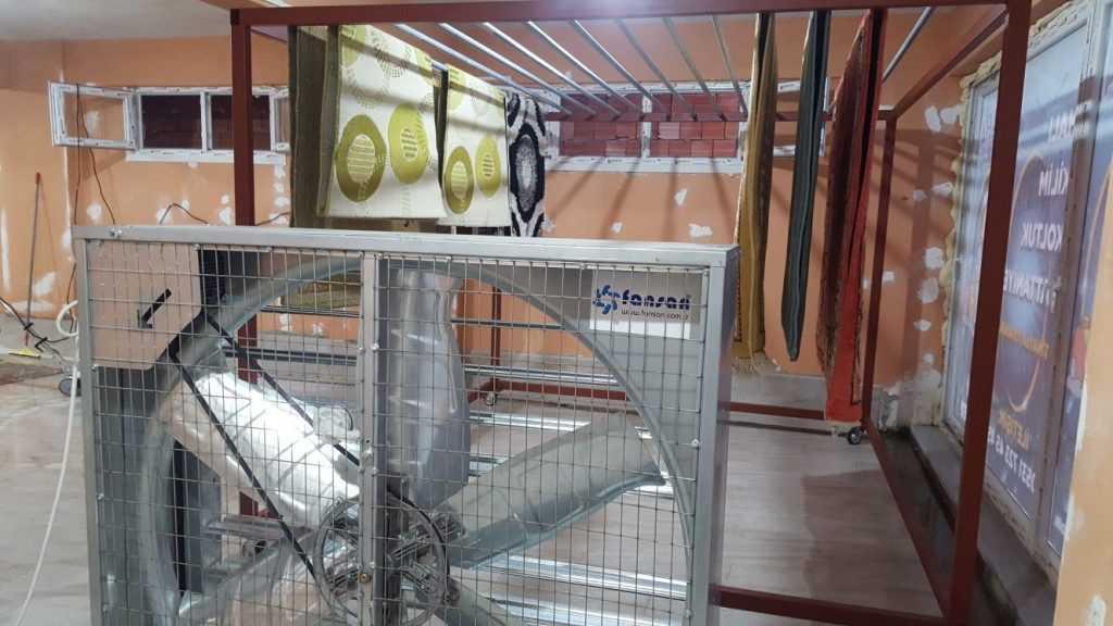 Çaykara'da halı yıkama tesisi açıldı 3