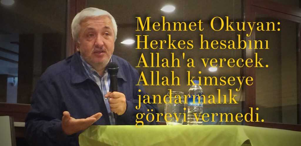 Prof. Dr. Mehmet Okuyan Kur'an'dan önemli mesajlar sundu