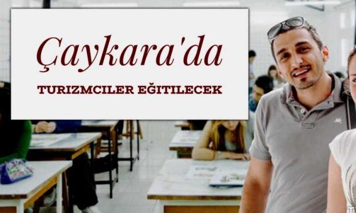 Çaykara'da turizm eğitimi