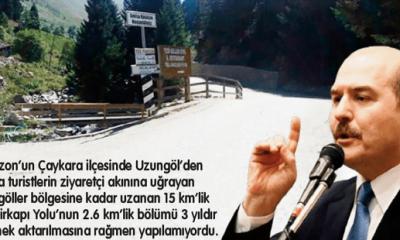 Demirkapı turizm yolu tamamlandı