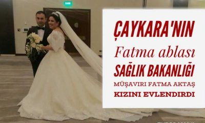 Fatma Aktaş kızı Hatice'yi evlendirdi