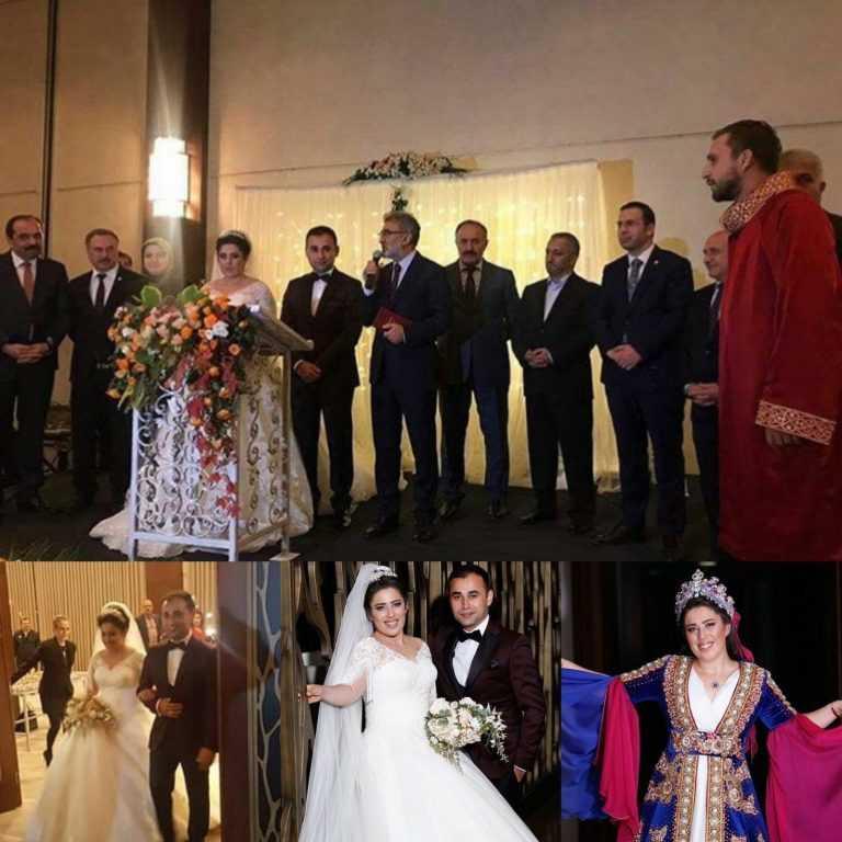 Fatma Aktaş kızı Hatice'yi evlendirdi 1