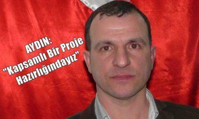 """Esnaf Odası Başkanı Ali Şükrü Aydın""""Çaykara için kapsamlı bir proje çalışması başlatacağız"""""""