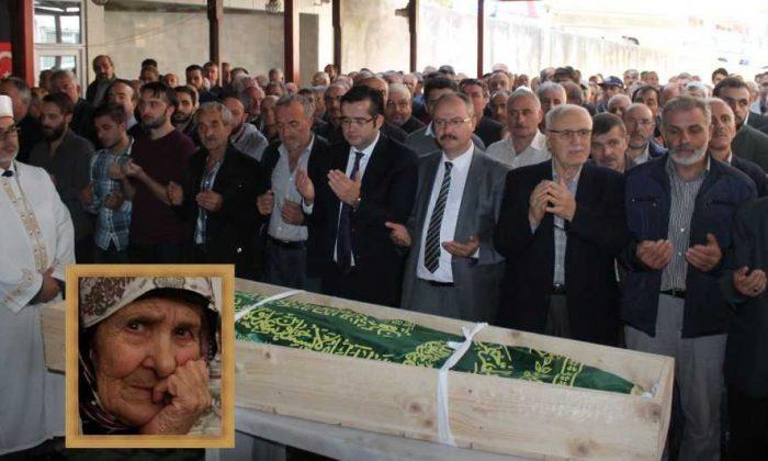 Dernekpazarı'nda Fatma Düzenli Toprağa verildi