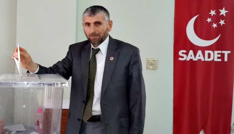 Çaykara'da Saadet Partisi Olağan Kongreye gidiyor