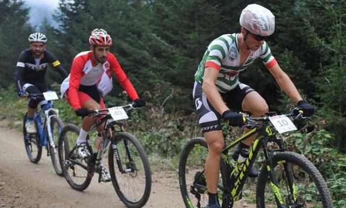 Çaykara-Uzungöl  Bisiklet Şampiyonası'nda birinci belli oldu