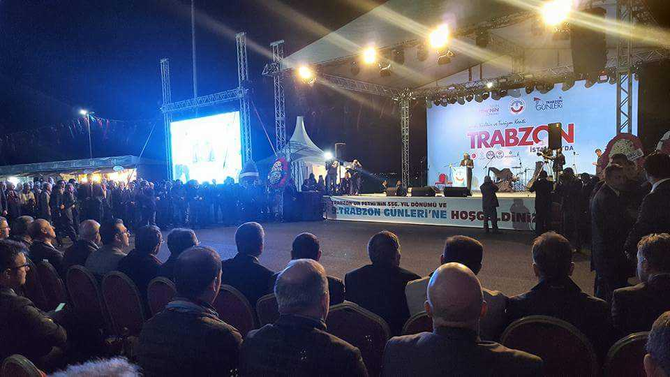 Trabzon Günleri etkinlikleri İstanbul Yenikapı'da başladı 1