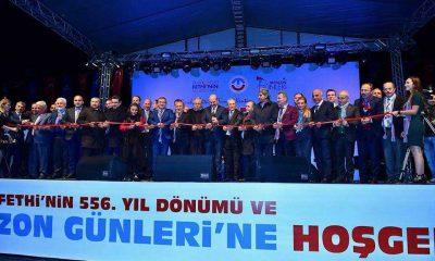 Trabzon Günleri etkinlikleri İstanbul Yenikapı'da başladı