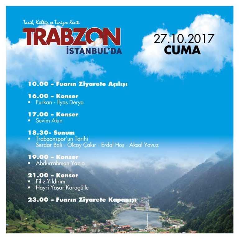 Trabzon Günleri etkinlikleri İstanbul Yenikapı'da başladı 4