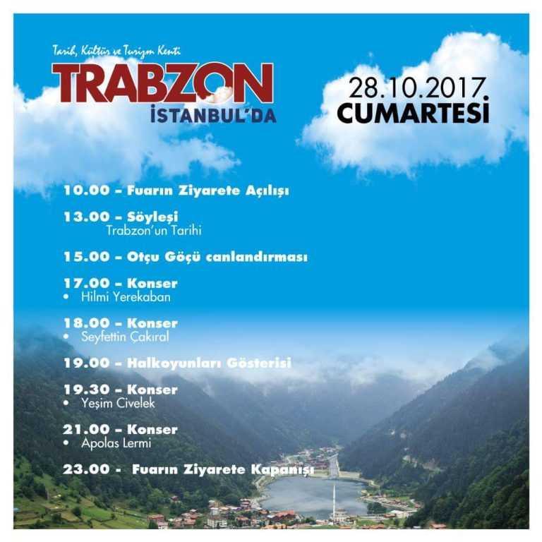 Trabzon Günleri etkinlikleri İstanbul Yenikapı'da başladı 5