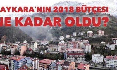 Çaykara Belediyesi 2018 bütçesi belli oldu