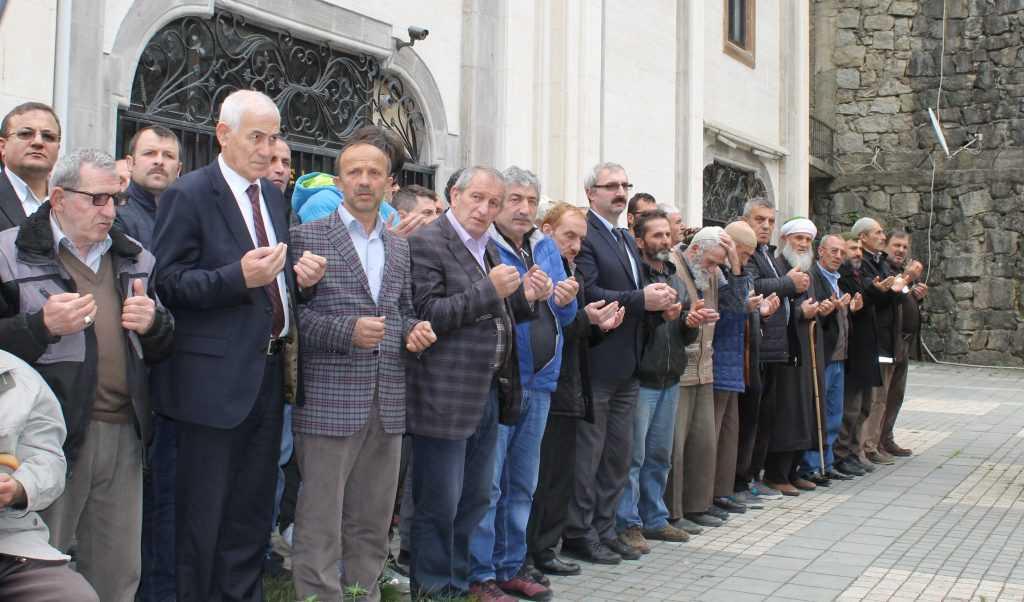 Taşkıran'da Nuriye Dinç Toprağa verildi 2