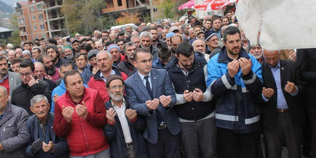 Taşkıran'da Nuriye Dinç Toprağa verildi 13