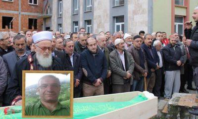Dr.Aydın Aydın'ı köyünden babası uğurladı