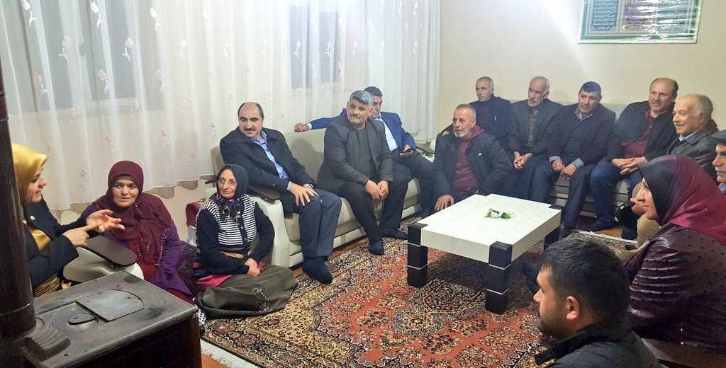 Milletvekili Köseoğlu Van'da Çaykaralıları buldu 2
