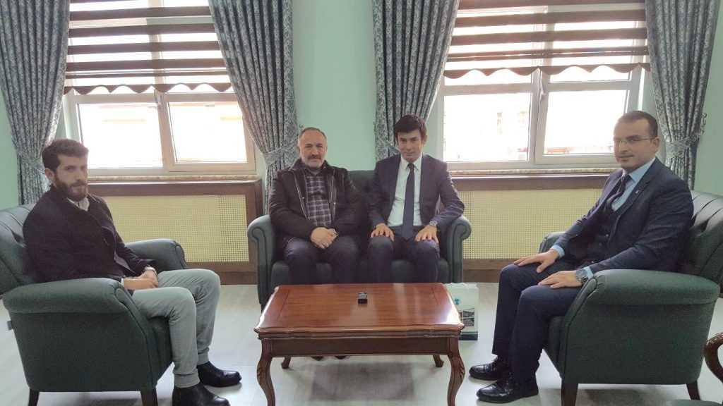 Seyfullah Hacımüftüoğlu Kaymakam Ayrancı'yı ziyaret etti 1