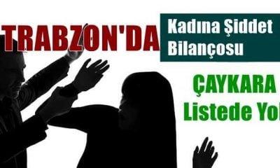 Trabzon'un şiddet haritası açıklandı Çaykara listede yok