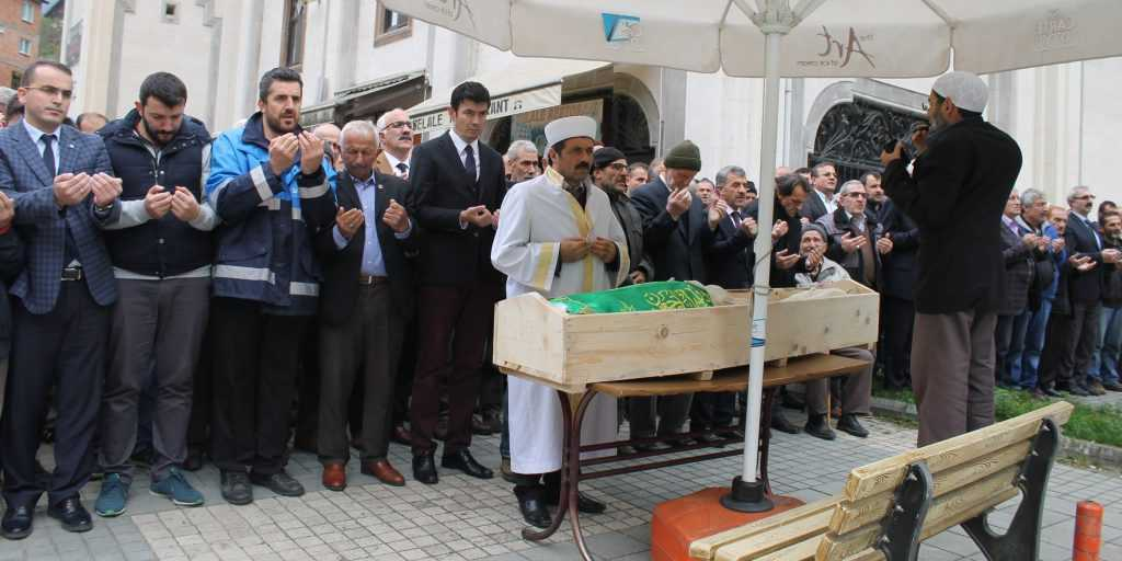 Taşkıran'da Nuriye Dinç Toprağa verildi