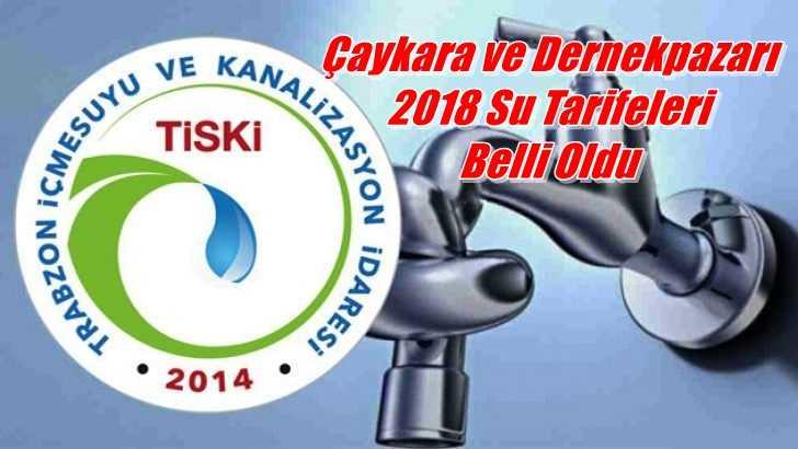 2018 Yılında Suyu Kaç Liradan İçeceğiz!
