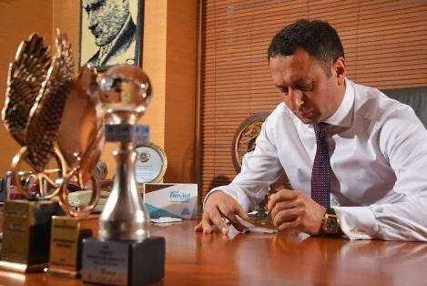Cumhurbaşkanı Erdoğan'dan Çaykaralı işadamına ödül 2