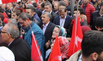 Trabzon'da Kudüs İçin Binlerce kişi yürüdü
