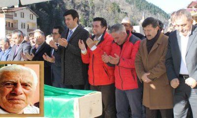 Mustafa Ağırman'ı Yüzlerce kişi Uğurladı