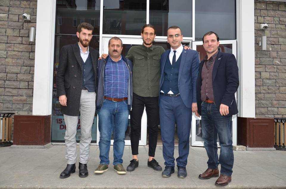 Milli futbolcu Yusuf Yazıcı Çaykara'da öğrencilerle buluştu 12