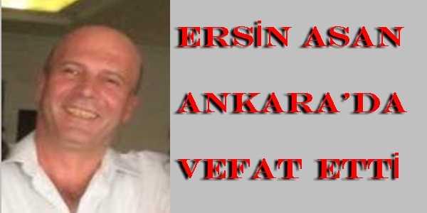 Taşkıran'da Ersin Asan vefat etti