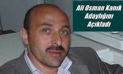 Ali Osman Kanık Çaykara Esnaf Sanatkarlar Odası başkanlığına aday