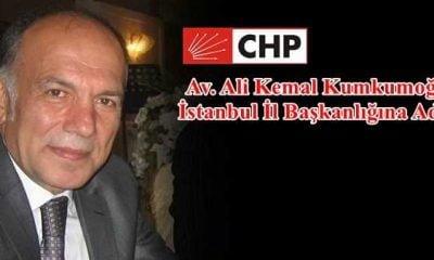 Kumkumuğlu CHP İstanbul İl Başkanlığına aday