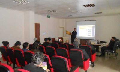 Çaykara'da arıcılık kursu düzenlendi