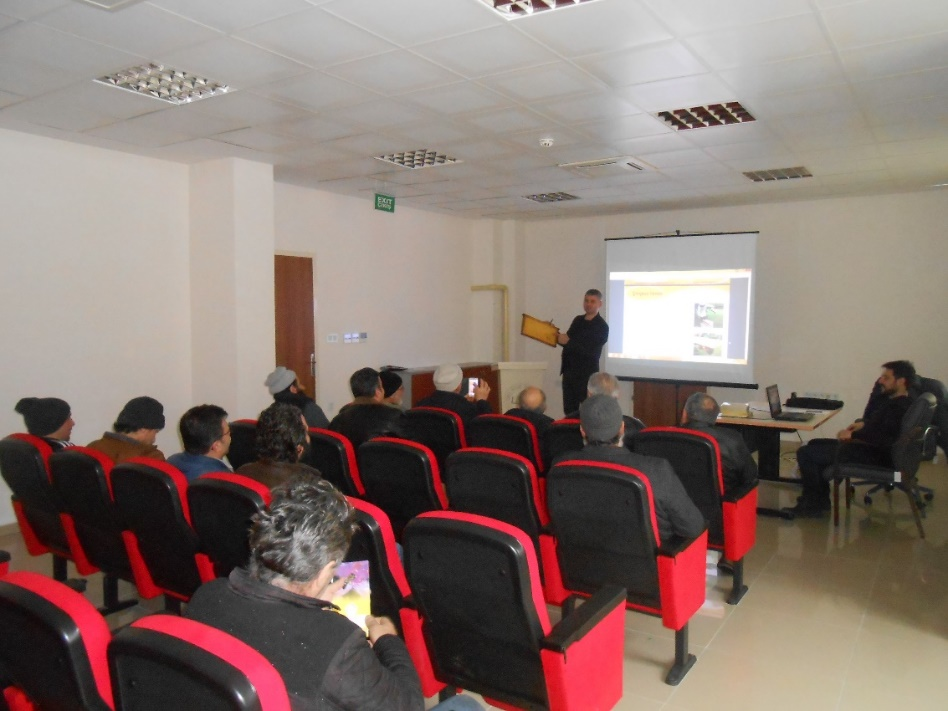 Çaykara'da arıcılık kursu düzenlendi 1