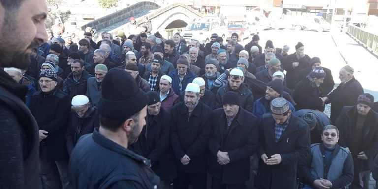Uzungöl'de Mustafa Şen toprağa verildi 2