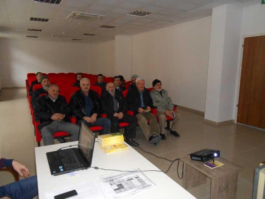 Çaykara'da arıcılık kursu düzenlendi 3